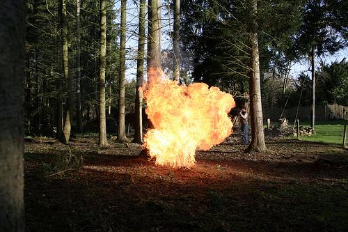 Fire / Cannon fun